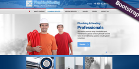 contractor construction website design templates