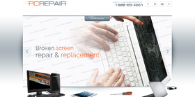 it-pc-tech repair website design templates